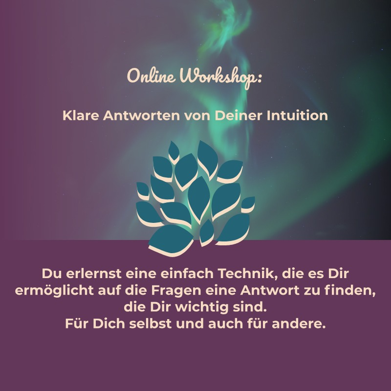 Intuition lernen
